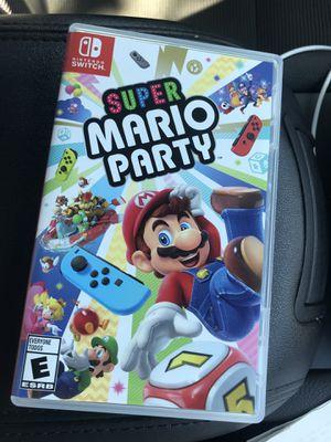 Super Mario party for Sale in Modesto, CA