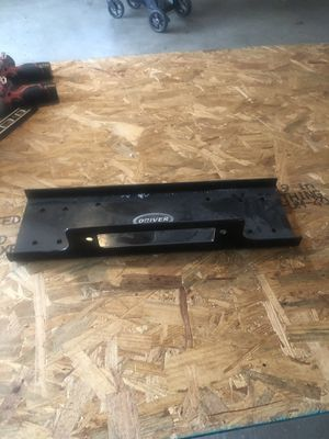 Driver winch mount plate brand new for Sale in Hampshire, IL