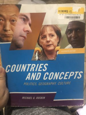 Countries And Concepts Book for Sale in Paramount, CA