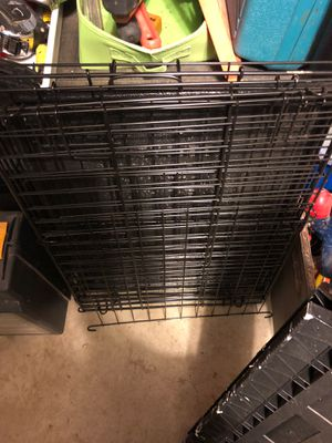 Dog crate with divider- small practically new for Sale in Canonsburg, PA