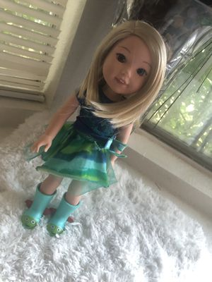 American girl doll welly wisher Camille for Sale in Las Vegas, NV