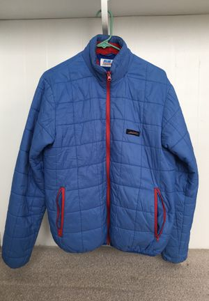 Blue Squares Skiing synthetic puffy jacket for Sale in Montezuma, CO