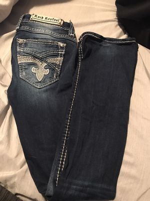 Rock revivals. Like new size 28! Asking 120 obo bought for 170$ for Sale in Gladewater, TX
