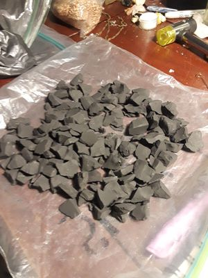 Bag of shungite chips metaphysical healing crystal for Sale in Margate, FL