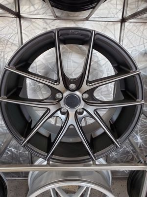 "PRICE PER WHEEL 19"" staggered Niche Targa M130 black with tinted face fits 5x114 rims for Sale in Tempe, AZ"