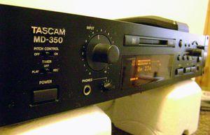 Tascam mini disc MD 350 for Sale in Mesquite, TX