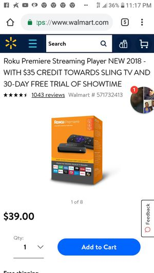 Roku Premiere for Sale in St. Louis, MO