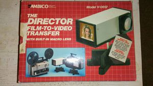 Film Slide to Video Transfer System for Sale in Hardy, VA