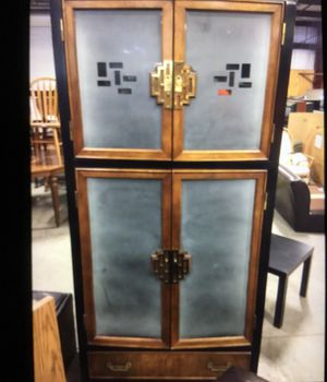 Century Furniture Antique Collectible Japanese Style China Cabinet for Sale in Lutz, FL
