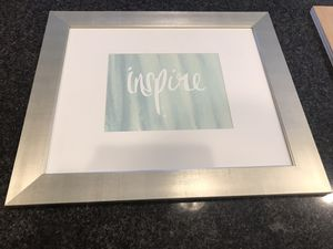 """Decorative picture """"inspire"""" for Sale in Henderson, NV"""