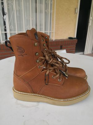 New Georgia steel toe work boots size 10 for Sale in Riverside, CA