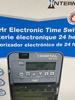 Intermatic DT104 24 Hours Electronic Time Switch for Sale in Miami,  FL