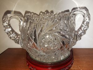 Antique American Brilliant Cut Glass for Sale in Dittmer, MO