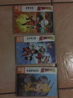 Dragon Ball Z Anime 5-Movie Set for Sale in Laredo, TX