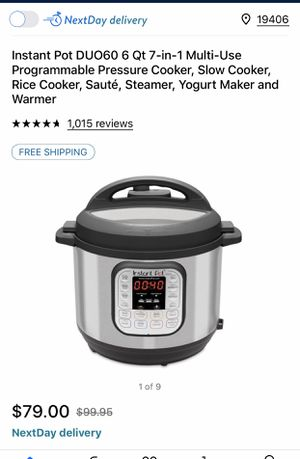instant pot brand new for Sale in King of Prussia, PA