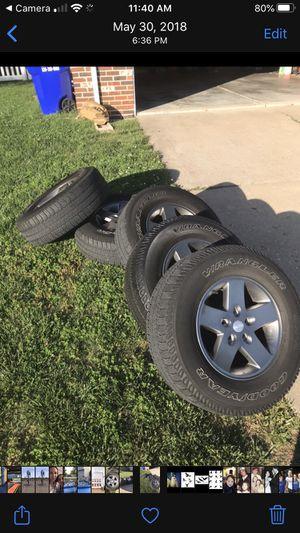 "17"" rims X 5 - Jeep Wrangler for Sale in O'Fallon, MO"