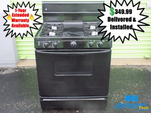 GE Gas Range & Oven combo for Sale in Lawrence, IN