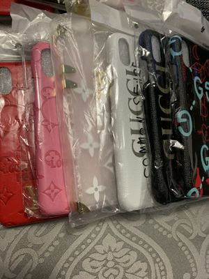 iPhone 7plus 8plus X and XS max phone cases for Sale in Kansas City, MO