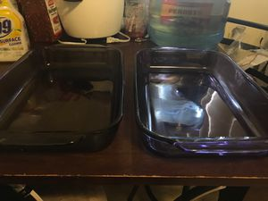 Pyrex glass pans for Sale in Lincoln Acres, CA