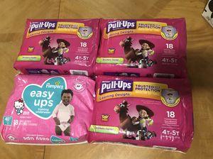Pull-ups diaper size 4t-5t for Sale in Lauderhill, FL