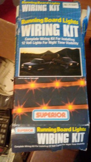 Running Board Lights Wiring Kit for Sale in Dixon, MO