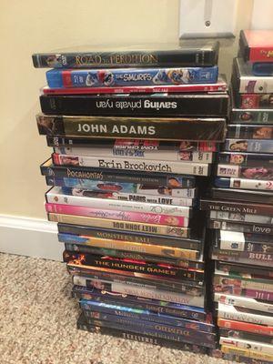 Over 150 DVDs! for Sale in Clarksburg, MD