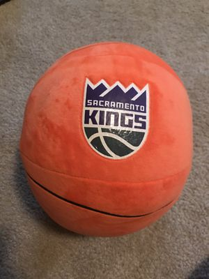 NBA Sacramento Kings plush basketball for Sale in Sacramento, CA