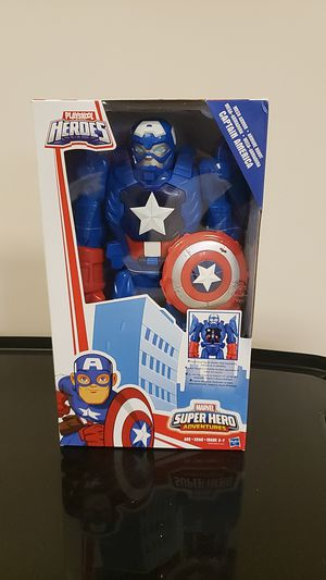 Super Hero Adventure Mech Armor Captain America Toy for Sale in Plainfield, IL