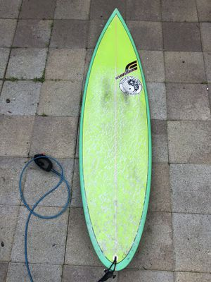 T & C 6 foot thruster surfboard for Sale in San Francisco, CA
