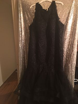 Homecoming All Black Gown for Sale in St. Louis, MO