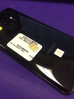 Nice deal on Galaxy S9 unlocked with charger and warranty! for Sale in Columbus, OH