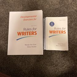 RULES FOR WRITERS Eighth Edition (Exercises Textbook & Booklet) for Sale in Battle Ground,  WA