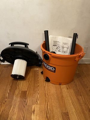 RIDGID 16 gallon Wed /Dry vac for Sale in Downers Grove, IL