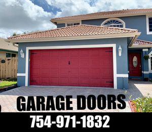 Garage doors install an repairs for Sale in Hialeah, FL