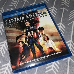 Captain America: The First Avenger (Two-Disc Blu-ray/DVD Combo) for Sale in Marietta, GA