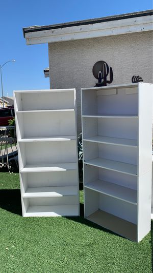 2 books shelf $40 for both PRICE IS FIRM EXCELLENT for Sale in North Las Vegas, NV