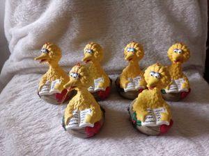 6 BIG BIRD ORNAMENTS for Sale in Dillsburg, PA