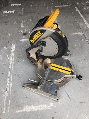 """Dewalt miter 12"""" chop saw for Sale in Brooksville, FL"""