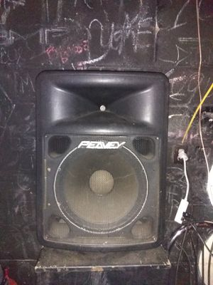"Peavy 15"" speakers for Sale in Tuscaloosa, AL"