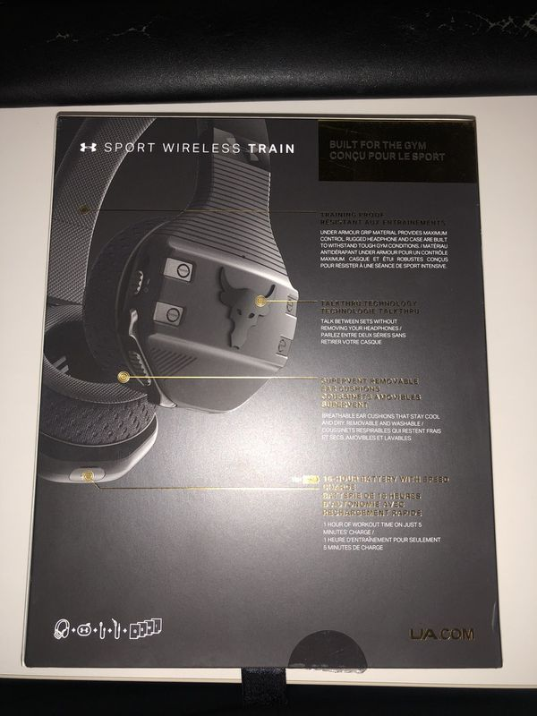 Project Rock Under Armour Jbl Headphones For Sale In Sacramento Ca