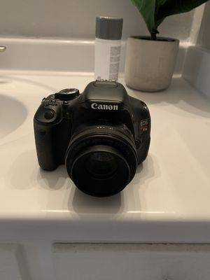 Canon Rebel 3ti EOS with 50mm lens for Sale in Burbank, CA