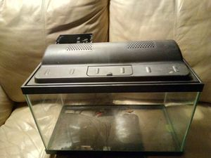 Fishtank w/ cover light and filter 20-30 gal. for Sale in Pillager, MN