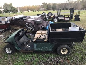 Two gas workhorse golf carts for Sale in Chesapeake, VA
