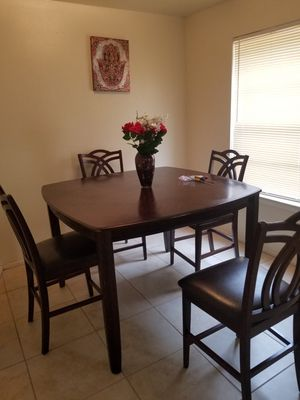 High table with 4 chairs for Sale in Bryan, TX