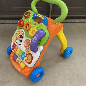 VTech Sit-to-Stand Learning Walker for Sale in Peoria, AZ
