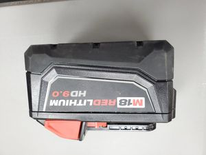 Milwaukee 9.0 battery only 90$!!! for Sale in Fort Worth, TX