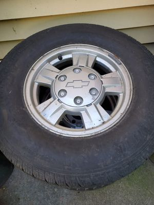 Chevy Colorado rim and tires for Sale in Bridgeport, CT