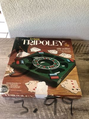 Vintage Turntable Tripoley Board Game for Sale in San Jose, CA