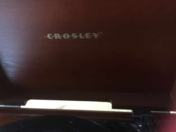 Brand new never been played out of the box Colby record player CD cassette track plus radio