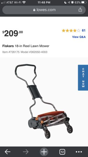 Manual Lawn Mower for Sale in Portland, OR